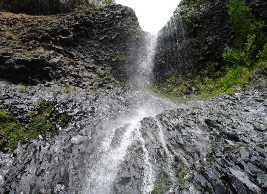 La cascade du Ray Pic, Ardèche