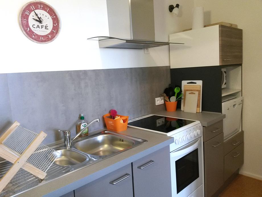 gite la maison en bois en Ardèche, cuisine